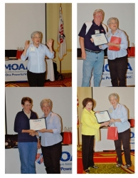 NC Council 2nd Quarterly Meeting Spouse Award Presentations May 16, 2014