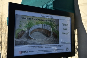 High Country Chapter (NC21) Dedicates New Veterans Memorial